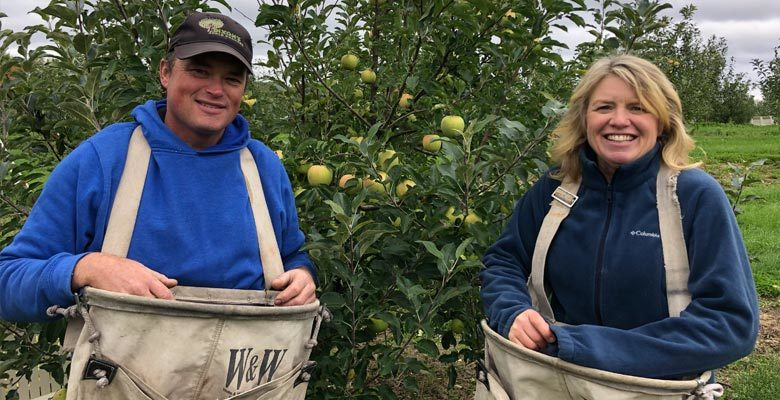 Opening Day for World-Exclusive Champagne Apple at Dixon's Apple Orchard