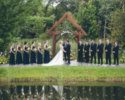 Dixon's Apple Orchard and Wedding Venue: Island Ceremony Site