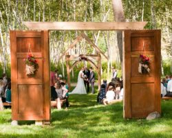 Dixon's Apple Orchard and Wedding Venue: Woodland Ceremony Site