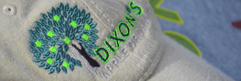 Order Dixon's Apples Merchandise